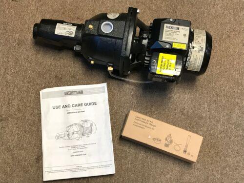Everbilt 3/4 HP Convertible Jet Pump Model DP370C