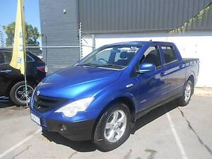 2011 Ssangyong Actyon Sports Turbo Diesel Dual Cab  Ute Wangara Wanneroo Area Preview