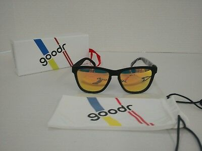 goodr Sunglasses- Whiskey Shots With Satan- Running (With Sunglasses)
