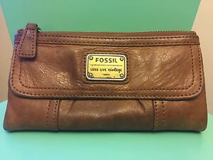 Fossil Leather Wallet Two Wells Mallala Area Preview