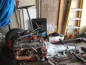 Chevy 350 and 350 turbo transmission