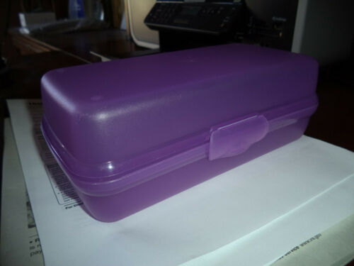 Tupperware Rectangular Sandwich Sub Keeper Snack Food Container *FREE SHIPPING*