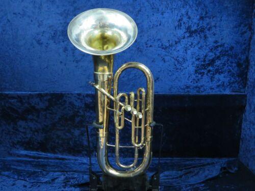Olds Studio Model 3 Valve Baritone Horn Ser#602550 Classic Olds Sound!