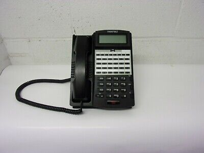 Iwatsu Ix-24ktd-3 24 Button Display Multi-line Telephone Black