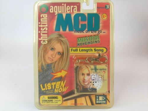 MCD Music On The Go- Christina Aguilera - What a Girl Wants -Musical Keychain