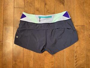 Lululemon run speed shorts size 6