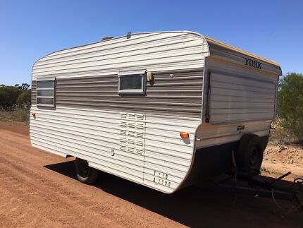 1975 York family caravan with bunks one owner South Bunbury Bunbury Area Preview