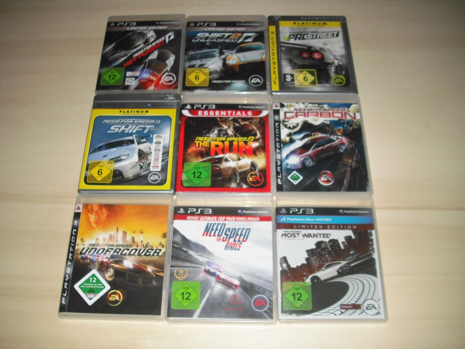PS3 - 1 x Need for Speed Spiel nach Wahl ( Most Wanted, Rivals..) Playstation 3