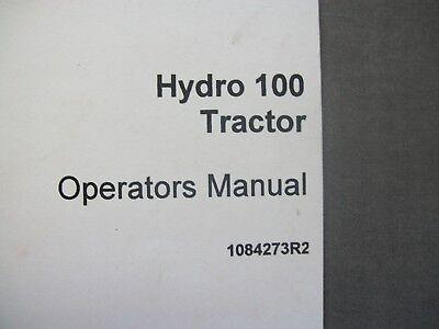 1084273r2 International Hydro 100 Operators Manual