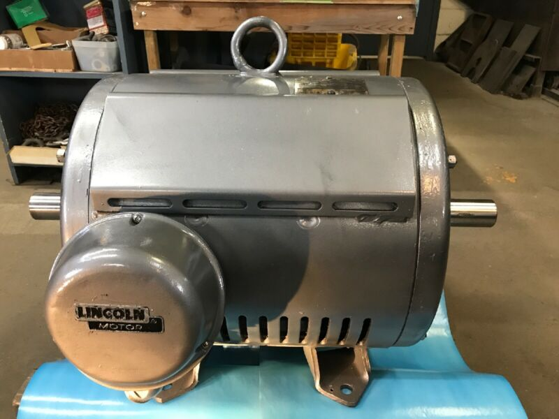 60HP 3ph460volt Dual Shaft Frame404TS RPM1185 LINCOLN Electric Motor(Freight)