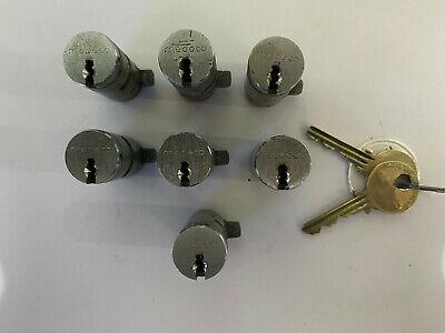 Medeco High Security Vending Machine Lock T-handle Cylinder All Keyed Alike