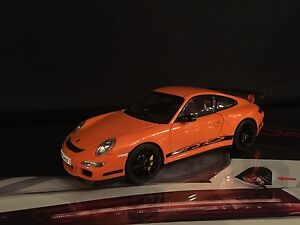 AutoArt 1:18 Porsche 911 997 GT3 RS Lava Orange