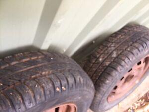 """Trailer Wheels 13"""" - 4 Stud Datsun pattern"""