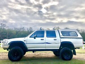 Toyota hilux SR 5 4x4 duel cab Ute mud tyres lift kit