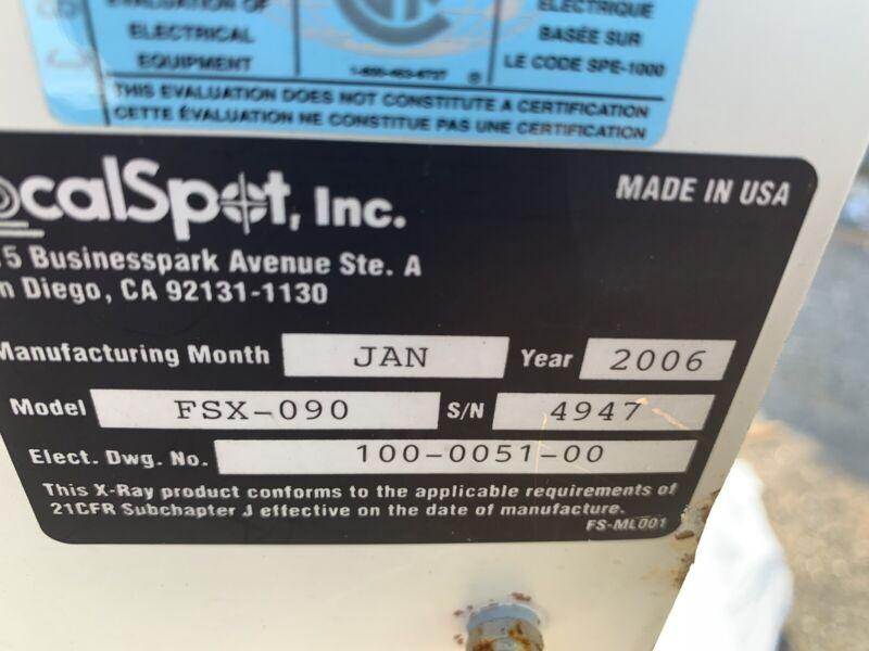 FSX-090 Verifier HR Focal Spot FSX-090 X-Ray inspection system