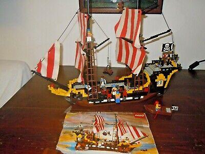 LEGO 6285 GALEONE PIRATI BLACK SEAS BARRACUDA (1989) COMPLETO.