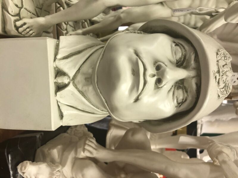 Bust of Mussolini