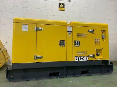 2021 Rhino Rg20 Diesel Generator Powered By Perkins Or Kubota