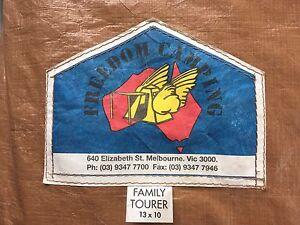Freedom Family Tourer Canvas Tent 13x10 Blackburn Whitehorse Area Preview