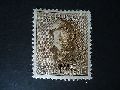 Belgique Belgîe Belgium year1919 -  cob:172 MH*