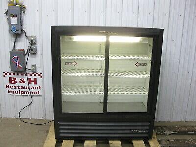 True Gdm-41sl-54 Glass Sliding Two 2 Door Merchandiser Refrigerator Cooler