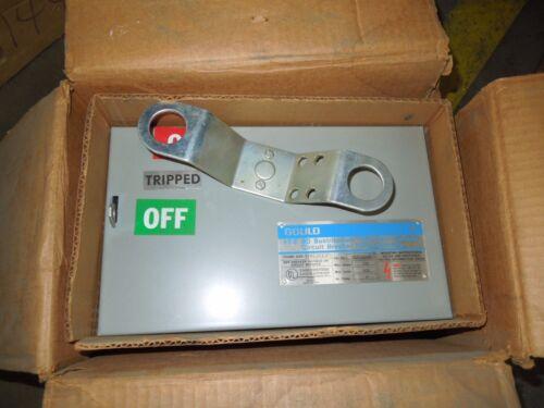 Gould Bdeh4100 100a Max 3ph 4w 600v Ite Bd Circuit Breaker Bus Plug Enclosure