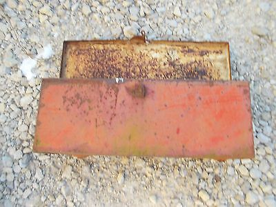 Allis Chalmers Wd 45 Wd45 Tractor Ac Fender Mount Tool Box W Lid