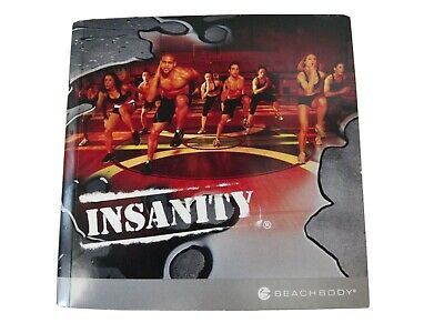 Beach Body Workout Insanity Home Fitness 10 DVDs Complete Free Shipping