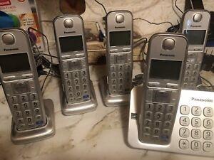 Panasonic 5-handset phone