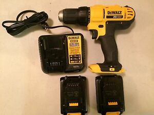 Dewalt 20v MAX lithium-ion compact drill driver kit