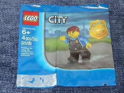LEGO City Chase McCain 5000281 Polybag New Sealed
