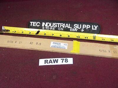 A2 A-2 Tool Steel 516 X 1-12 X 18 Oversized Flat Stock Raw78