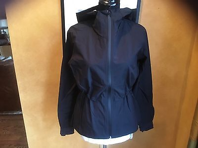 Lululemon go Destination Jacket Rain Waterproof Black 4 6 8 10 NWT