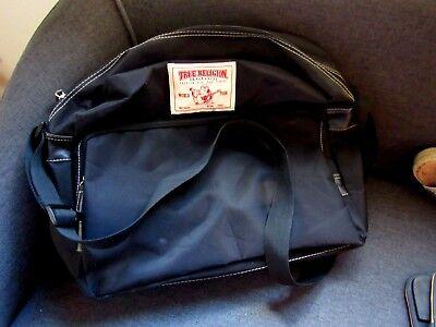 TRUE RELIGION BOOK BAG, COMPUTER BAG, OR TRAVEL BAG  NEW