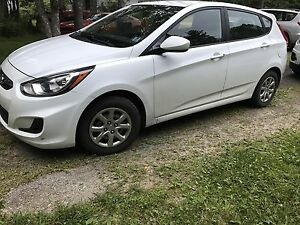 2012 Hyundai Accent hatchback 5dr