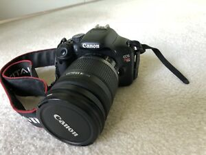Canon Rebel t2i with 18-200 mm and 18-55 mm lens