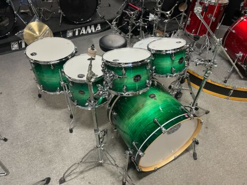 "Mapex ""Armory"" 6 piece drum set/holders/stds"