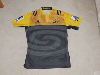 "Wellington Hurricanes 2018 Super Rugby Union New Zealand Shirt XL 46"" Chest"