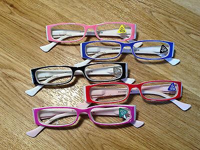 Bright Colored Reading Glasses ~ Polka-Dot Hearts - Polka Dot Glasses