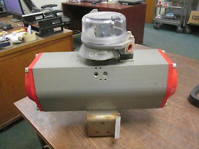 (Triad Controls Aluminum Series Rack & Pinion Actuator 180-AL125DA 150 PSI Max )