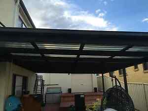 Pergola posts + Roof Shell Cove Shellharbour Area Preview