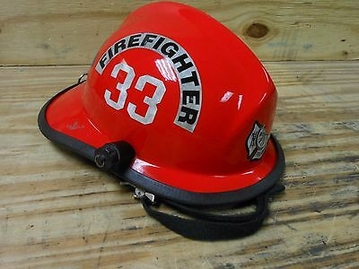 Cairns 660c Military 182d Firefighter Fire Rescue Helmet Fireman Red 33