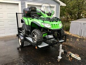 2006 Arctic Cat 650 4x4 Automatic - With Trailer