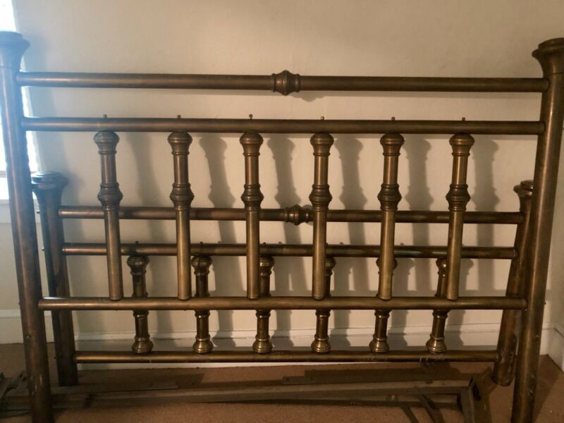 Antique Brass Bed King Size