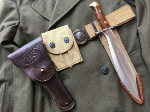 WWI US Army  M1916 Leather Holster M1911 Pistol  G&K Grafton & Knight 1918