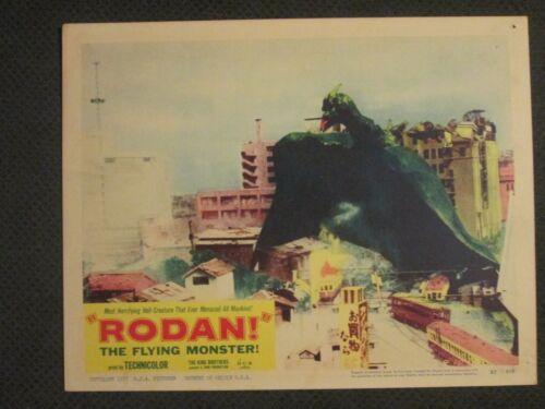 Rodan -   1957    Lobby Card  Original  - Toho - Godzilla