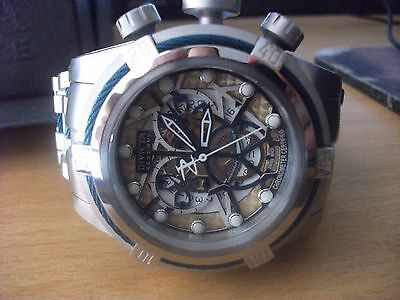 Invicta Men's 13753 Bolt Reserve Chronograph Stainless Steel Watch