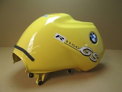 BMW R1150GS 2003 23,842 miles petrol fuel tank, yellow (2887) for sale  Shipping to Ireland