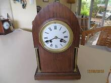 FRENCH MAHOGANY LANCET MANTLE CLOCK Bateman Melville Area Preview