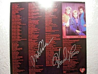 HEART These Dreams Signed Autographed Lyric Sheet By 2 RARE - $12.99